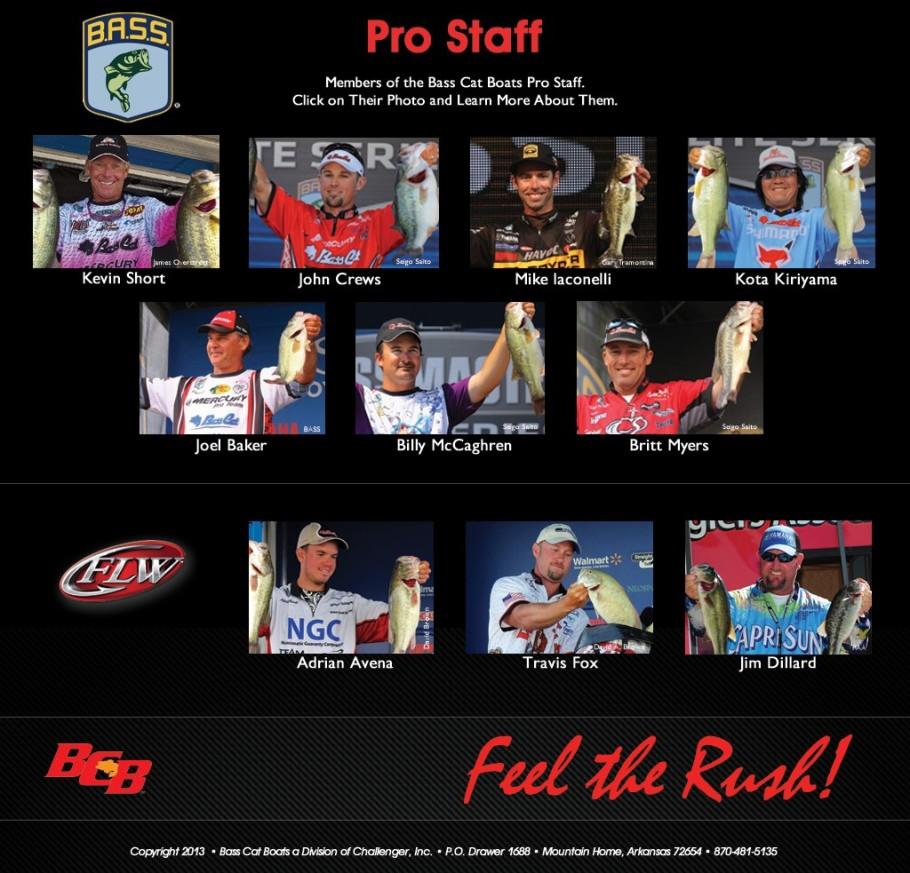Basscat Pro Staff