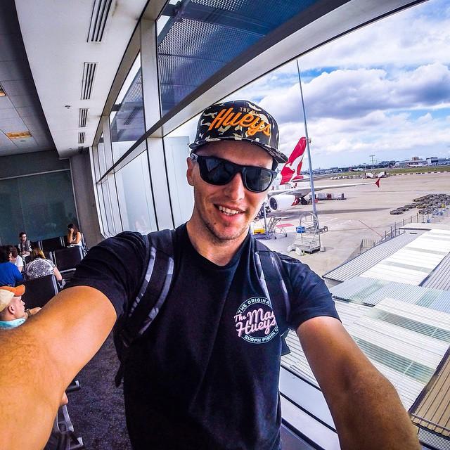 Leaving Australia for 2015 Bassmaster Elites
