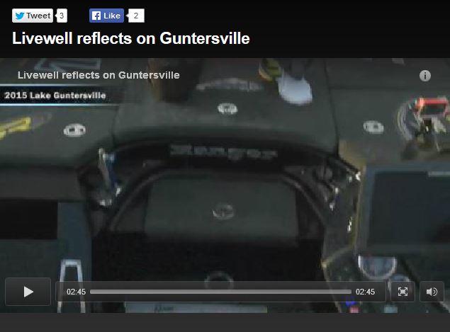 Bassmaster - Livewell reflects on Guntersville