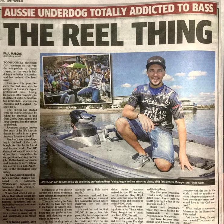 A million people read about Tournament Fishing