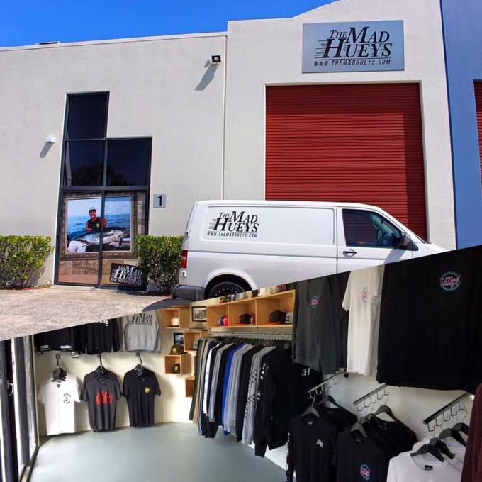 Called into The Mad Hueys HQ and raided them of all there latest gear!