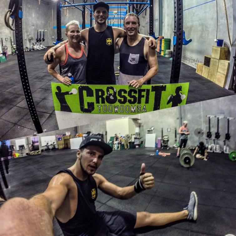 Friday night sweat session at Crossfit Toowoomba!