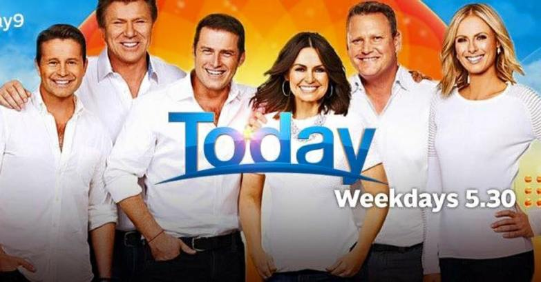 Live interview on Channel 9 Today Show