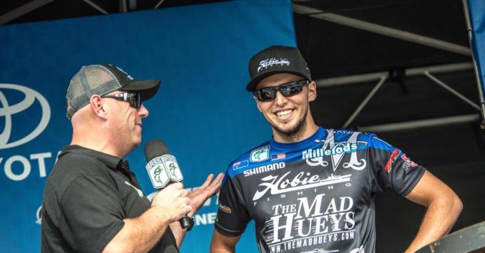 Never been so proud to announce that #HobieFishing is on board as my naming sponsor for the 2016 Bassmaster Elites Series!