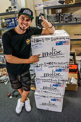 Can't wait to hit the water with Molix lures