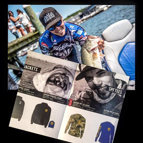 PUMPED UP to be back on board with The Mad Hueys for my 2016 Bassmaster Elite season