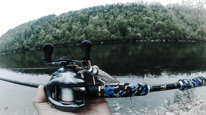 Back to the White River in time to try catch a Trout for breakfast on the new Molix Prop Jerkbait!