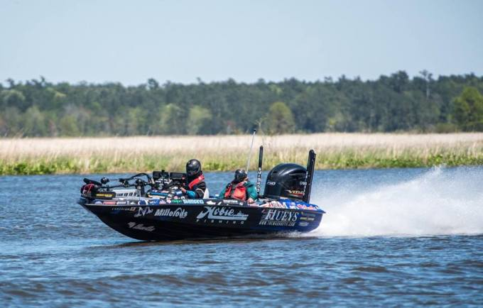 Garrick Dixon action shot Winyah Bay 200 mile round trip