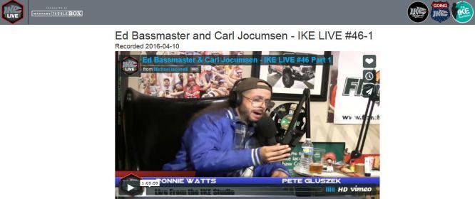 Ike Live Pod Cast