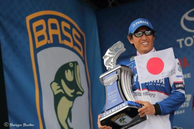 Congrats to Takahiro Omori for winning his 6th Bassmaster Event this week on Wheeler Lake