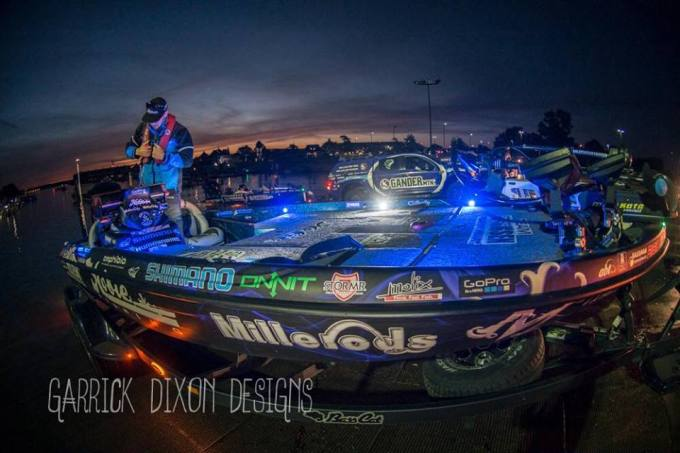 I don't think there's a better feeling than launching my BassCat on the number 1 Bass fishing lake in the country for a Bassmaster Elite event!