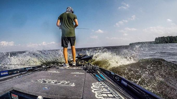 It's been a wild ride on Toledo Bend the past two days, from the front deck to behind the drivers seat the BassCat has been eating it up!