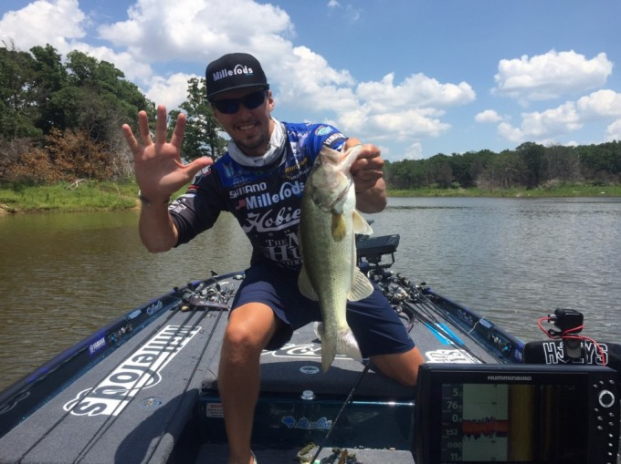 Photo by Bassmaster Marshal Freddie Watkins Number 5