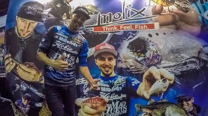At the ICast MOLIX Booth