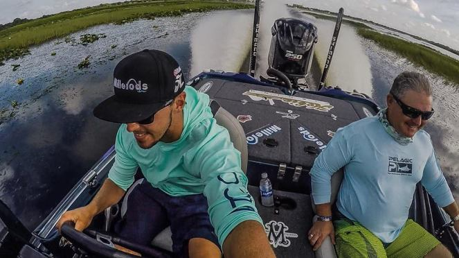 Product testing on Lake Toho