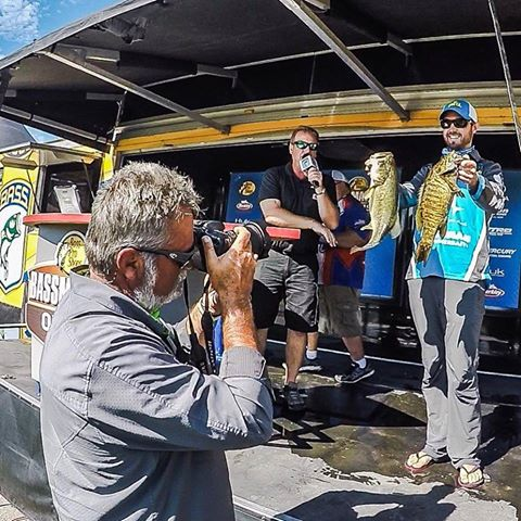 So cool to see Australian Bass Champion Peter Phelps have a huge day on Lake Oneida for the Bassmaster Open!